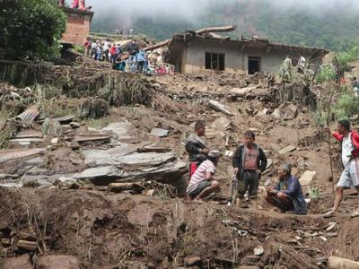 Landslides in Nepal kill 12 people, at least 21 missing
