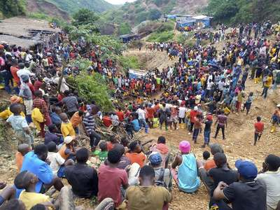 First bodies recovered at DRCongo mine accident site