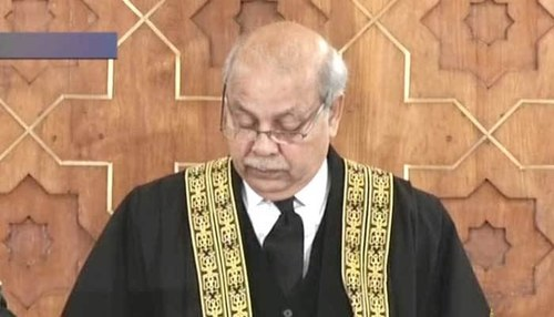 Justice cannot be delivered unless judges are under no external pressure, says CJP