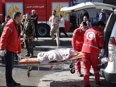 Red Crescent worker killed in Syria