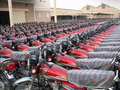 Sale of motorbike, three wheelers witnessed increase of 19.59pc