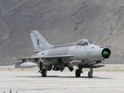 PAF aircraft crashes in Attock