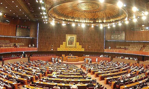 Joint session of parliament underway to pass FATF-related bills
