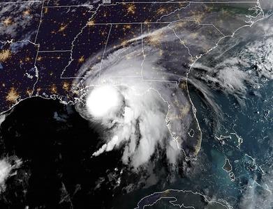 Hurricane Sally makes landfall on Alabama's Gulf Coast