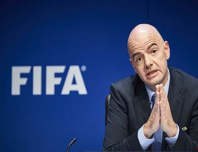FIFA president Infantino meets Trump to discuss 2026 World Cup