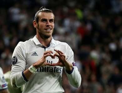 Bale arrives in UK ahead of Tottenham move