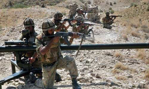 Four terrorists killed in Balochistan, multiple hideouts and administrative camps destroyed: ISPR