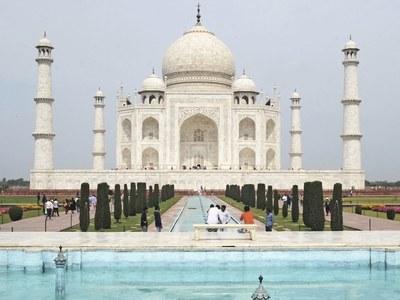 India's Taj Mahal gets first visitors as coronavirus infections climb