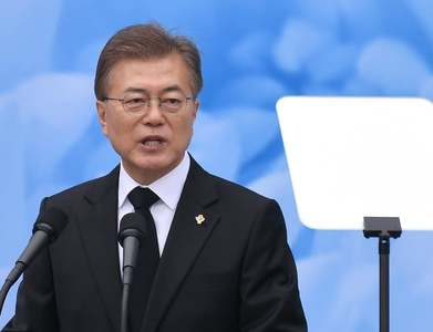 South Korea's Moon proposes regional initiative to battle COVID-19, engage North Korea