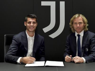 Morata returns to Juventus on one-year loan deal