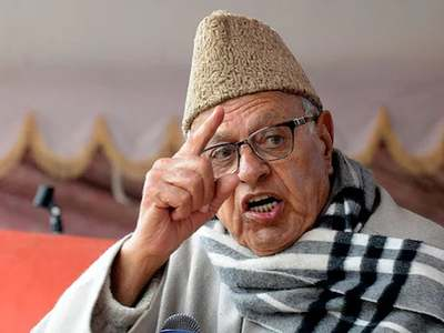 Kashmiris would prefer a Chinese rule than live under Indian oppression, says Farooq Abdullah