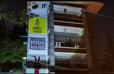 Rights group Amnesty halts India operations, says facing crackdown