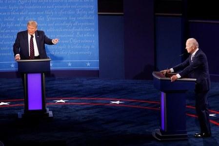 First U.S. presidential debate fails to move investors
