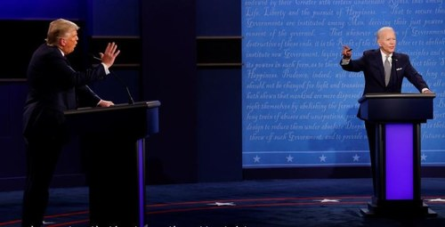 'Will you shut up, man?' - quotes from the first Trump-Biden debate