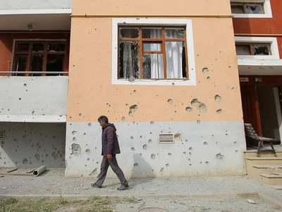 Azerbaijan says Armenian shelling killed civilian in Terter, damaged train station