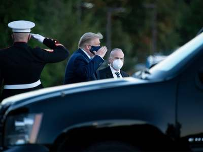 Trump to spend days at military hospital after COVID-19 diagnosis