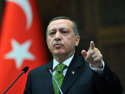 Erdogan says Turkey stands by 'oppressed' in the Caucasus