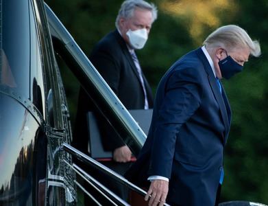 Trump's COVID-19 symptoms 'very concerning', next 48 hours critical