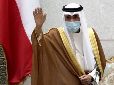 Kuwait's new emir meets senior US and Iranian officials