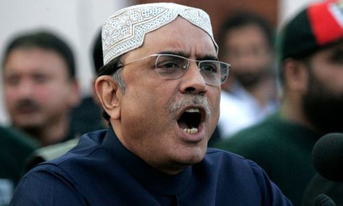 Court indicts Zardari in Park Lane, Thatta Water Supply references