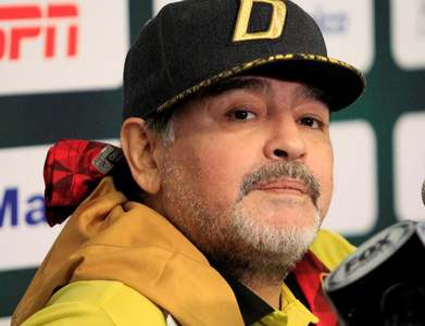 Argentine soccer legend Maradona has been tested for coronavirus