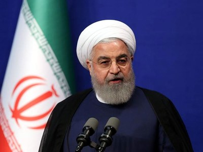 Iran Rouhani urges regional peace in talk with Azerbaijan's Aliyev