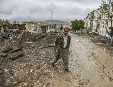Russia warns that Nagorno-Karabakh could become militant stronghold