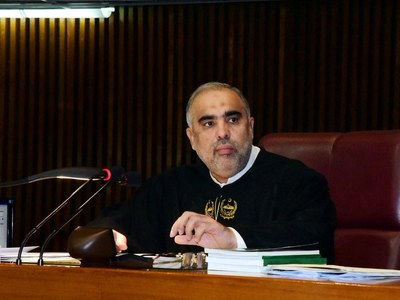 Speaker NA welcomes EU all out support of Pakistan for socio-economic development
