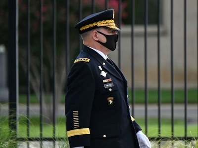 Top US general quarantining after possible Covid exposure: military source