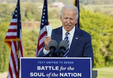 FX options market reflects more confidence in Biden election win