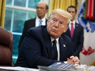 Trump was in Oval Office the day after hospital discharge