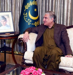 Pak-Turkish joint stance on regional, int'l matters welcoming: Qureshi