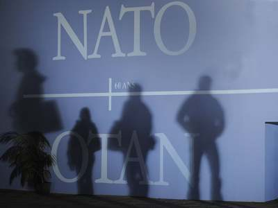 NATO chief says allies will leave together