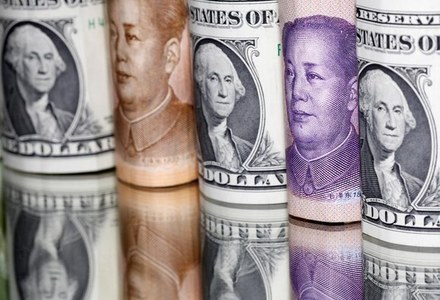 Dollar off three-week low, yuan eases after PBOC move