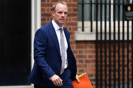 UK foreign minister Raab says hopeful of closing gap in EU talks before summit
