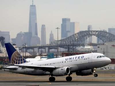 United Airlines third-quarter revenue drops 78pc