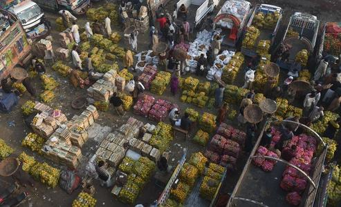 Fruits, vegetables prices brought down in Kohat