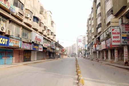 Businesses remain closed in Karachi