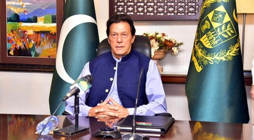 """PM Imran terms PDM's rally a """"circus"""", says Nawaz is targeting military, state institutions to create anarchy"""