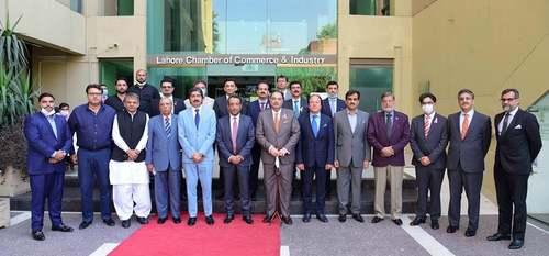 BOP President inaugurates facilitation booth at LCCI