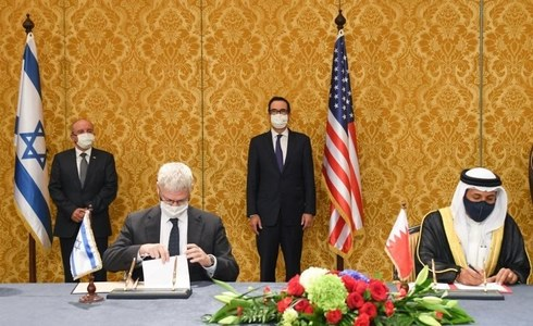 Bahrain, Israel ink joint communique to establish diplomatic ties, boost economic activity