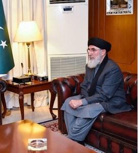 Gulbuddin Hekmatyar calls on PM Imran Khan