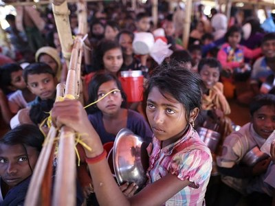 UN announces urgent donor conference for Rohingyas