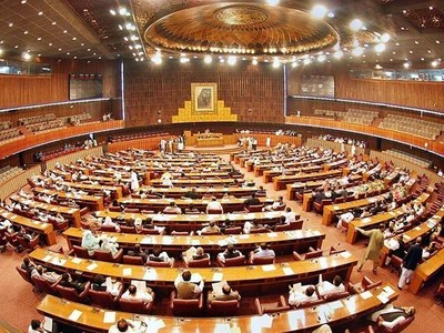 National Assembly: Government lays 13 bills amid opposition's protest