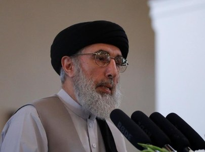 Former Afghan PM Hekmatyar condemns Indian atrocities in IIOJK