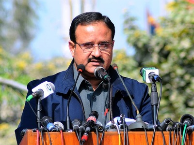 Number of active coronavirus cases in Punjab 2424: Usman Buzdar