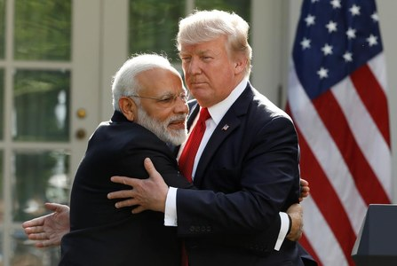 Trump just called India 'filthy' in the final US presidential debate