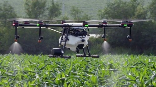 Increasing green cover: Tech firm develops drones to plant trees