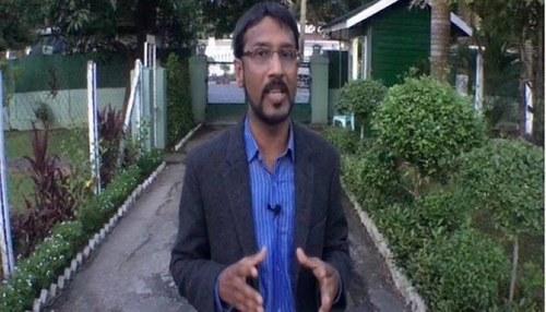 Missing senior reporter returns home