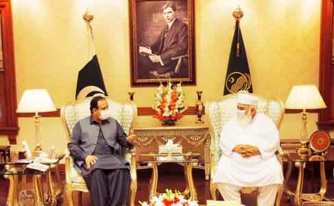 Expelled PML-N leaders meet CM Buzdar once again